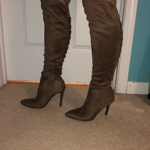 Knee High High Heel boots